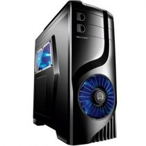 Gabinete Gamer 2 Baias Luminous Preto GA132 Multilaser (Sem Fonte)