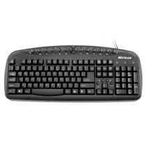 Teclado PS2 Multimídia Preto TC080 Multilaser