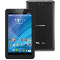 Tablet M7 7  Wi-Fi, 3G, 8GB Preto NB223 Multilaser