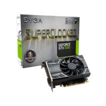 Placa De Video 2GB DDR5 128 Bit PCI-E (HDMI, DVI, DisplayPort) EVGA Geforce GPU GTX 1050 Evga