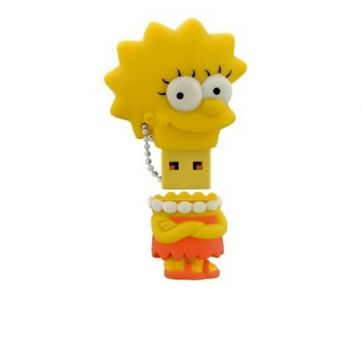 Pendrive 8GB Simpsons Lisa PD072 Multilaser