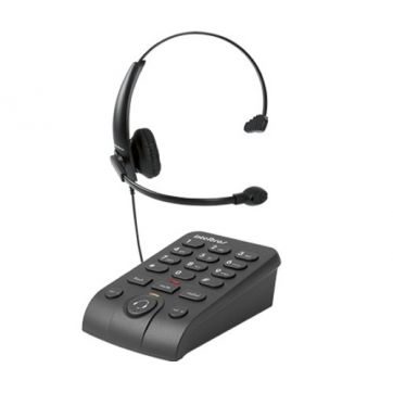 TELEFONE HEADSET DIGITAL PRETO HSB50 INTELBRAS