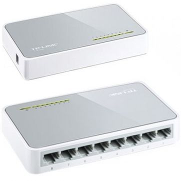 Switch 8 Portas 10/100 Tl-Sf1008d T Tp-Link