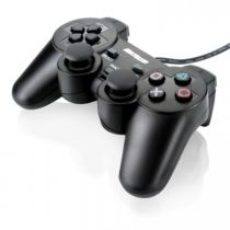 Joypad PS2 Dual Shock Preto JS043 Multilaser
