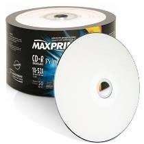 CD-R Printable 700mb 506051 50un Maxprint
