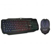 Teclado E Mouse Optico USB Gamer Preto 624651 Dazz