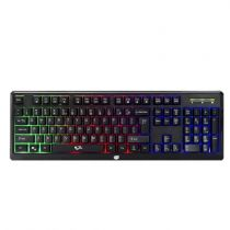 Teclado USB Gamer Rapid Fire Preto 623621 Dazz