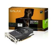 Placa De Video 2GB DDR5 128 Bit PCI-E (HDMI, DVI e DisplayPort) Geforce GTX 1050 OC Galax