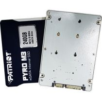 HD 240Gb SSD case SATA III, Internal mSATA Pyro M3 PP240GSM3SSDR Patriot