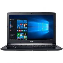 Notebook Acer A515-51-55QD Preto (Core i5-7200U 2.5~3.1ghz/4GB/1TB/15,6 LED/Web/Card/Blue/W10)