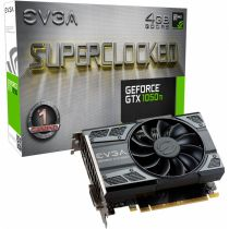 Placa De Video 4GB DDR5 128 Bit PCI-E (HDMI, DVI, D.Port) GTX1050TI-4G Geforce EVGA