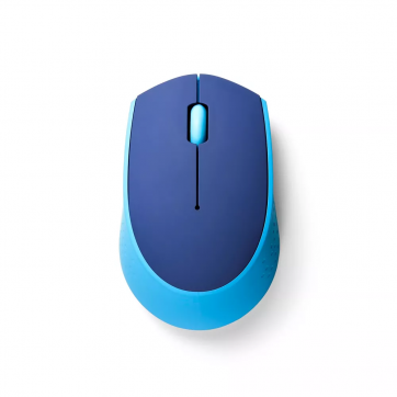 Mouse USB Optico Sem Fio Wireless 2.4ghz Azul MO259 Multilaser