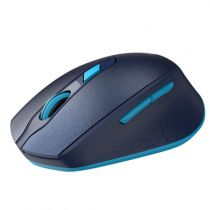 Mouse USB Optico Sem Fio Wireless Azul 6014477 Maxprint