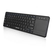 Teclado + Touch Pad USB Sem Fio Wireless Preto K-WT100BK C3 Tech
