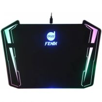 Mouse Pad Gamer Fenix Ultra Baclight Preto/Multicolorido 622223 Dazz