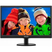 Monitor 18,5  LED C/ HDMI 193V5LHSB2 Preto Widescreen Philips