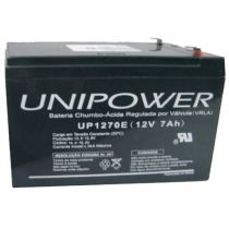 BATERIA SELADA PARA NO BREAK 12V 7A F187 (UP1270E) UNIPOWER